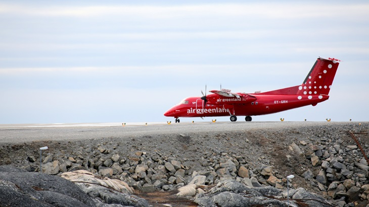 Air Greenland fly